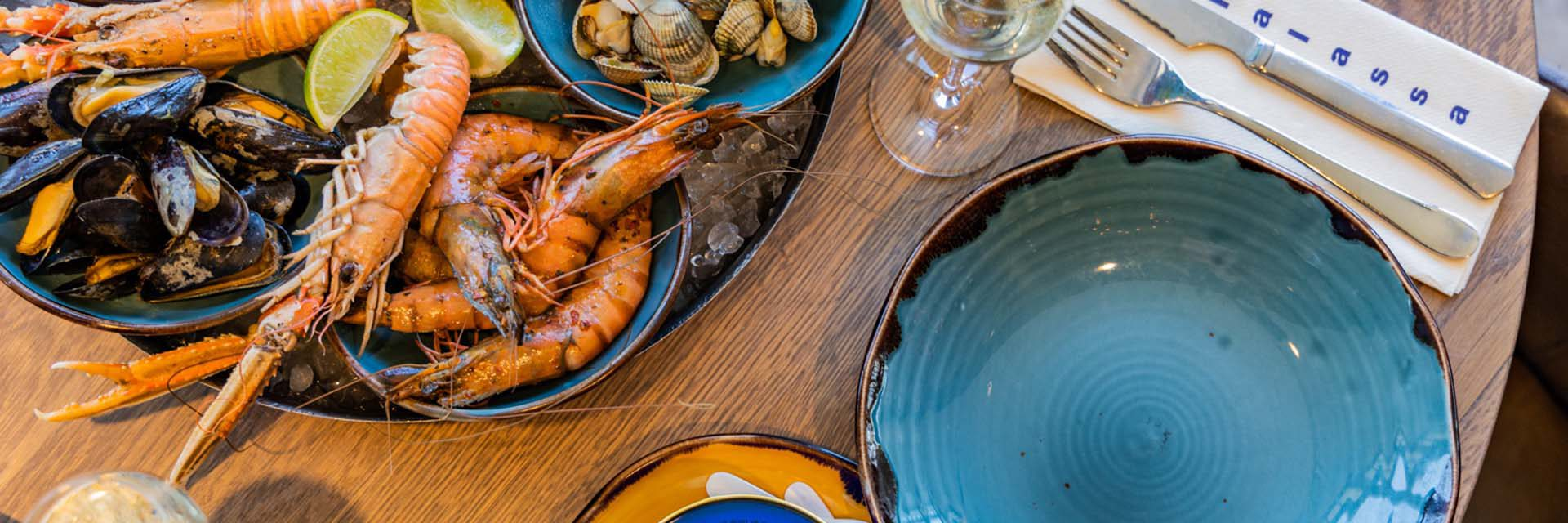 Restaurant Thalasaa Zandvoort - Visrestaurant aan zee
